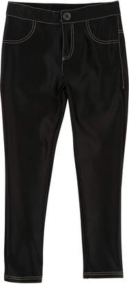 Little Marc Jacobs Satiny Stretch Trousers, Size 4-5