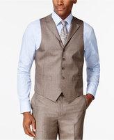 Sean John Brown Stepweave Classic-Fit Vest