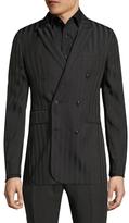 John Varvatos Double Breast Suit Jacket