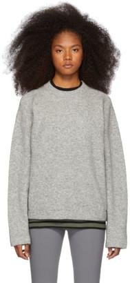 Alexander Wang Grey Teepee Sweater