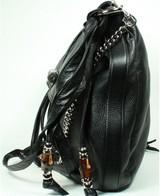 Gucci excellent (EX Black Leather Shoulder Bag *Layaway Available*