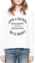 Zadig & Voltaire Willy Bis Badge T-Shirt