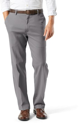 Dockers Men's Stretch Easy Khaki Classic-Fit Flat-Front Pants