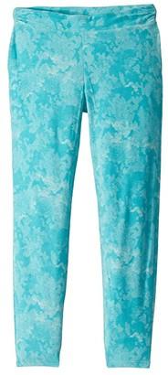 Columbia Kids Glacial Printed Leggings (Little Kids/Big Kids) (Geyser Camo Print) Girl's Casual Pants