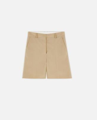 Stella McCartney amber tailored shorts