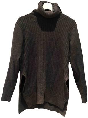 Ganni Anthracite Wool Knitwear for Women