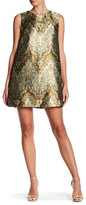 Cynthia Rowley Metallic Shift Dress