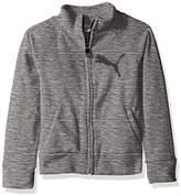 Puma Girls' Space Dye Zip-up Jacket