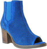Bos. & Co. Cobalt Brianna Leather Ankle Boot