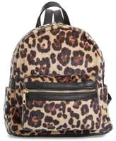 BP Leopard Print Faux Fur Backpack