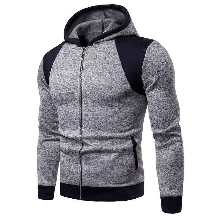 58fc9ca18 CieKen Men Sportswear Shorts Mens Hoodie Winter Warm Fleece Zipper Sweater  Jacket Outwear Coat Tops Blouses ...