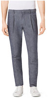 Michael Kors Slim-Fit Chambray Trousers