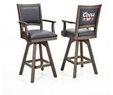 "ECI Coors Banquet 30"" Swivel Bar Stool (Set of 2 Furniture"