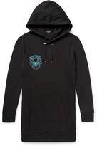 Balmain - Embellished Cotton-jersey Hoodie