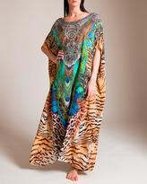 Camilla Roar of the Wild Round Neck Kaftan
