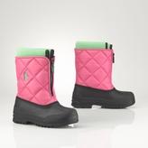 Child Vancouver Zip Snow Boot