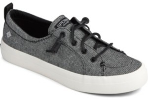 Sperry Women's Crest Vibe Sparkle Linen Sneakers Women's Shoes