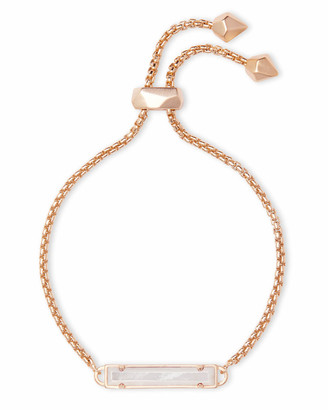 Kendra Scott Stan Adjustable Bracelet in Rose Gold