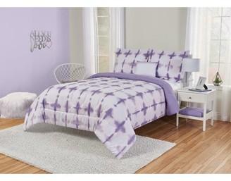 Better Homes & Gardens Better Homes and Gardens Kids Lavender Tie Dye Comforter Set