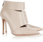 Gianvito Rossi Cutout leather ankle boots