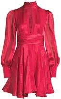 Alexis Hadiza Printed Keyhole Fit-&-Flare Dress