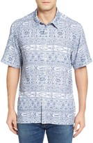 Quiksilver Men's Quikskilver Waterman Collection Pina Arvo Camp Shirt