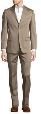 Michael Kors Textured Buttoned Suit