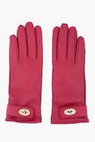 Mulberry Burgundy Bayswater Glove