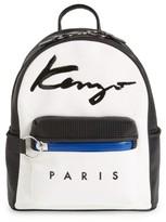 Kenzo Signature Backpack - White