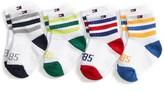 Tommy Hilfiger Stripe Infant Socks 4pk