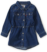 Levi's Baby Girls 12-24 Months Long-Sleeve Woven Dress