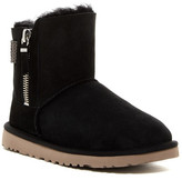 UGG Aztek Woven Suede Genuine Shearling Boot