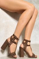 Nasty Gal nastygal Mikayla Studded Heel