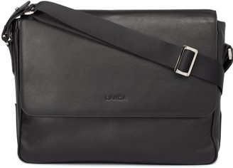 Landa Laptop Satchel Bag Black