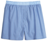 Brooks Brothers Traditional Fit Plaid with End-on-End Boxers