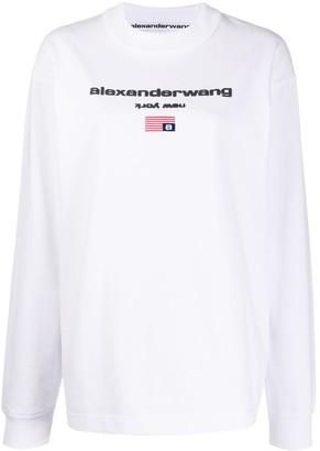 Alexander Wang Oversized Logo Sweatshirt
