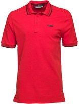 Duck and Cover Mens Acute Polo Mars