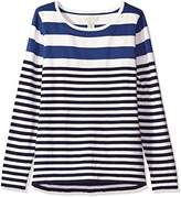 Caribbean Joe Women's Light Weight Striped Sweater