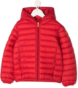 Save The Duck Kids Gigay hooded puffer jacket