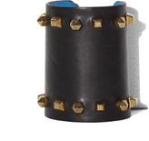 Vince Camuto Large Leather Cuff With Studs
