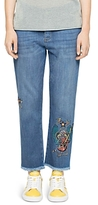 Zadig & Voltaire Deluxe Embroidered Boyfriend Jeans
