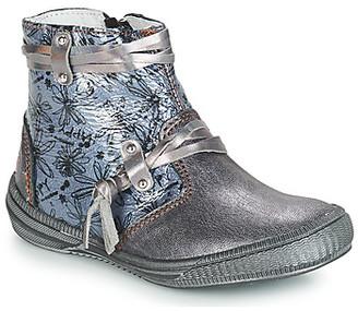 GBB REVA girls's Mid Boots in Grey