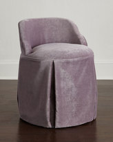 Horchow Greer Skirted Vanity Seat
