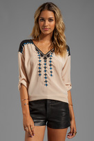 Plenty by Tracy Reese Embroidered Blouse