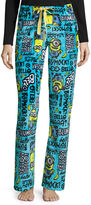 Asstd National Brand Illumination Minions Fleece Pajama Pants-Juniors