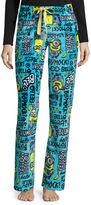 Asstd National Brand Illumination Minions Fleece Pajama Pants-Juniors