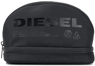 Diesel Shiny Logo Washbag
