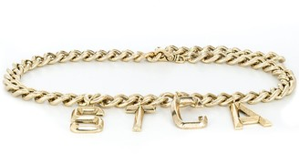 Just Cavalli Charm Curb Bracelet
