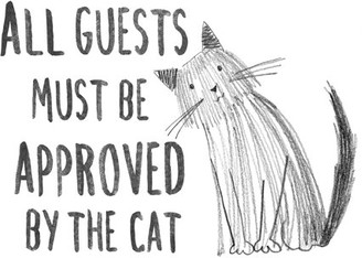 WallPops! WallPops Cat Approved Wall Quote