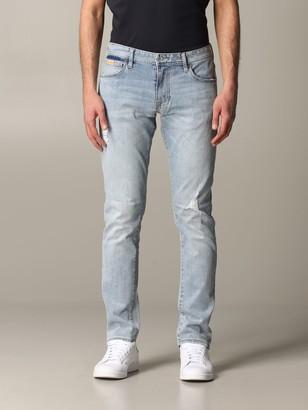 Armani Collezioni Armani Exchange Jeans Armani Exchange Skinny Jeans With Tears